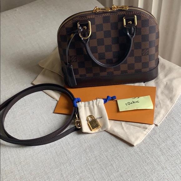 c17a75f000cb Louis Vuitton Handbags - Louis Vuitton Alma BB Damier Ebene